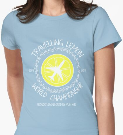 Travelling Lemon World Championship 2014 Womens Fitted T-Shirt