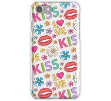 Kiss,love... iPhone Case/Skin