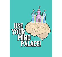 USE YOUR MIND PALACE Photographic Print