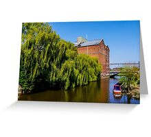 Historic Flour Mill.  Greeting Card