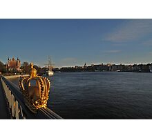 """View of Stockholm, Sweden - """"Venice of the north"""" Photographic Print"""