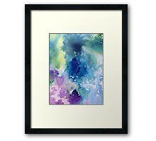 Sky Ink Framed Print