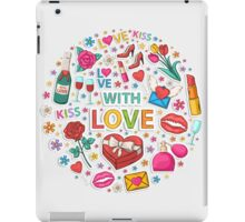 Love circle iPad Case/Skin