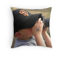 Future RedBubbler ~ Throw Pillow