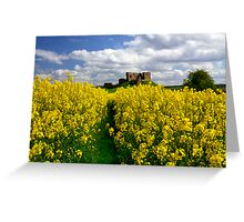 Duffus Castle Greeting Card