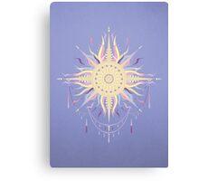 Boho sun Canvas Print