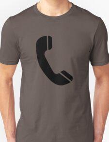 Retro Black Telephone T-Shirt
