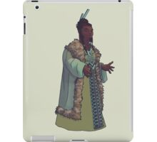 Hafaq - a noble dwarrowdam iPad Case/Skin