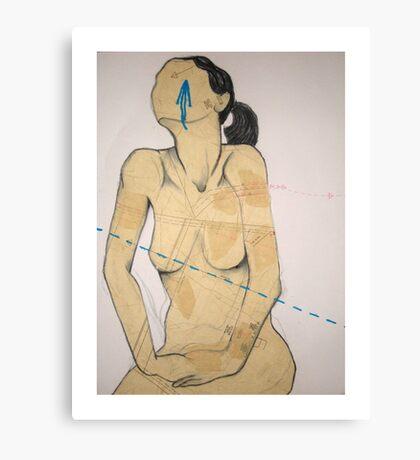 Ethel Agnes #1 Canvas Print