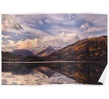 Loch Duich Sunrise Poster