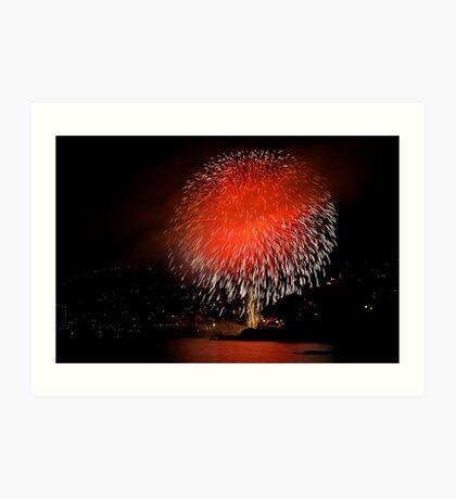 Recco - Fireworks Festival Art Print