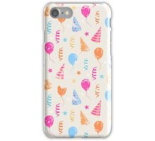 Happy birthday,festive pattern  iPhone Case/Skin