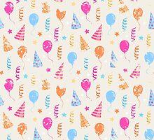 Happy birthday,festive pattern  by AldanNi
