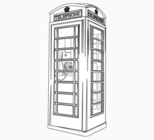 British Public Telephone Box Kids Clothes