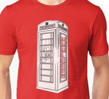 British Public Telephone Box Unisex T-Shirt