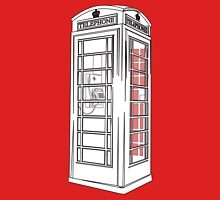 British Public Telephone Box Unisex T-Shirt