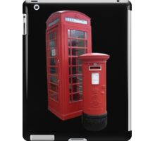 British Phone Booth and Post Office Box iPad Case/Skin
