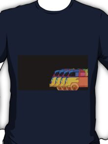 Pop Art VW Surfer Bus T-Shirt