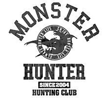 Monster Hunter - Hunting Club (dark effect) Photographic Print