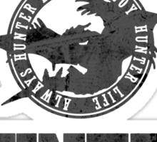 Monster Hunter - Hunting Club (dark effect) Sticker
