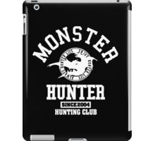 Monster Hunter - Hunting Club (white) iPad Case/Skin