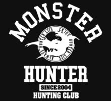 Monster Hunter - Hunting Club (white) by riccardo08