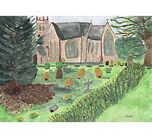 St Johns ~ Stockcross, in springtime.  Photographic Print