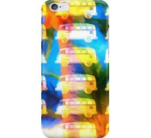 VW Surfer Van Palm Tree iPhone Case/Skin