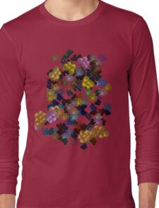 Pink Fields Long Sleeve T-Shirt