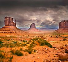 Monument Valley Mittens by Steve Holderfield