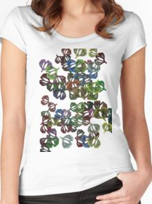 Flor22 Women's Fitted Scoop T-Shirt
