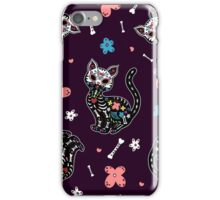 Dia de los Gatos iPhone Case/Skin