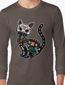Dia de los Gatos Long Sleeve T-Shirt