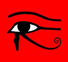 Egyptian Eye of Horus by BenjiKing