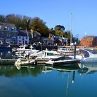 Padstow,Cornwall UK April 20TH 2015 by lynn carter