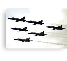 Blue Angels in the Sky Canvas Print