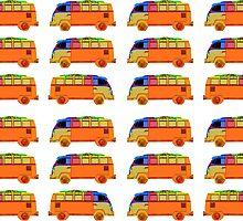 Surfer Vans by Edward Fielding