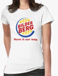 Bilderberg - Have it Our Way 'Subversive' Burger Logo Womens Fitted T-Shirt
