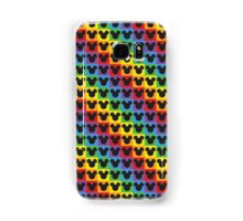 mickey mouse rainbow Samsung Galaxy Case/Skin