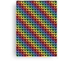 mickey mouse rainbow Canvas Print