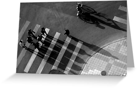 Bikes above I by James Deverich
