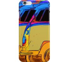 VDub Surfer Vans 2 iPhone Case/Skin