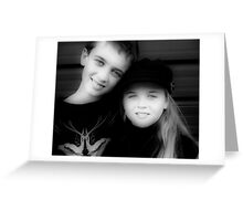 Jay and Kaylee  Greeting Card
