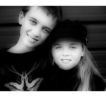 Jay and Kaylee  Photographic Print