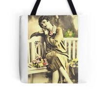 """""""Pretty Lady"""" Digitally Altered Photography Tote Bag"""