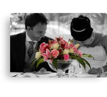 Newlyweds Canvas Print