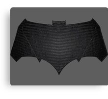Batman - BVS Canvas Print