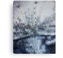 Burning Brush Canvas Print