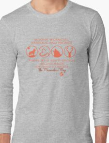 Moony, Wormtail, Padfoot, Prongs Long Sleeve T-Shirt