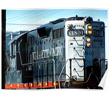 Willamette Pacific Engine 1081 Poster